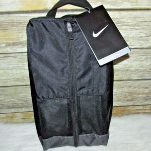 Nike Golf Sport II Black Nylon Shoe Tote Bag
